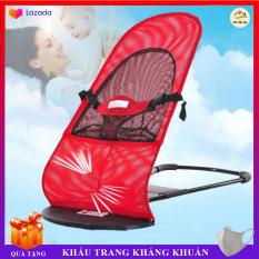 Ghế Rung Nhún Cao Cấp cho bé, thiết kế khung thép dẻo chắc chắn an toàn cho bé