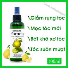 Nước xịt dưỡng tóc tinh dầu bưởi Pomelo 100ml giúp giảm gãy rụng, nuôi dưỡng tóc từ sâu bên trong cho bạn tóc dài và dài hơn