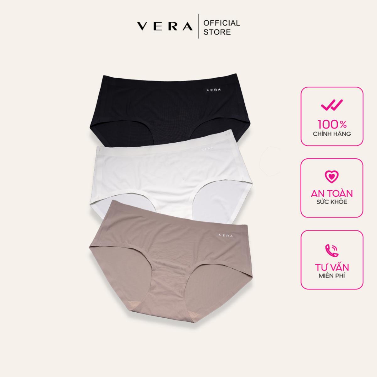 Combo 03 quần lót nữ bikini no line panty không đường may Vera 9133