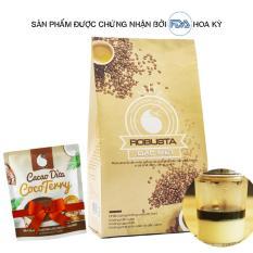 Cà phê bột nguyên chất Light coffee loại Đặc biệt , vị đậm , đắng , mạnh , không tẩm ướp hương liệu, 500g