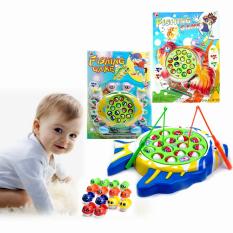 Bộ đồ chơi câu cá / câu ếch phát nhạc vui nhộn cho bé