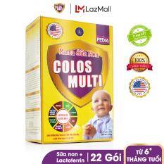 Sữa bột chuyên biệt cho trẻ biếng ăn, chậm cân Mama Sữa Non Colos Multi Pedia Hộp 352g