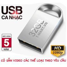 USB CA NHẠC 32GB CÓ SẴN 800 VIDEO FULL HD 1080P CHẤT LƯỢNG CAO – USB Ô TÔ