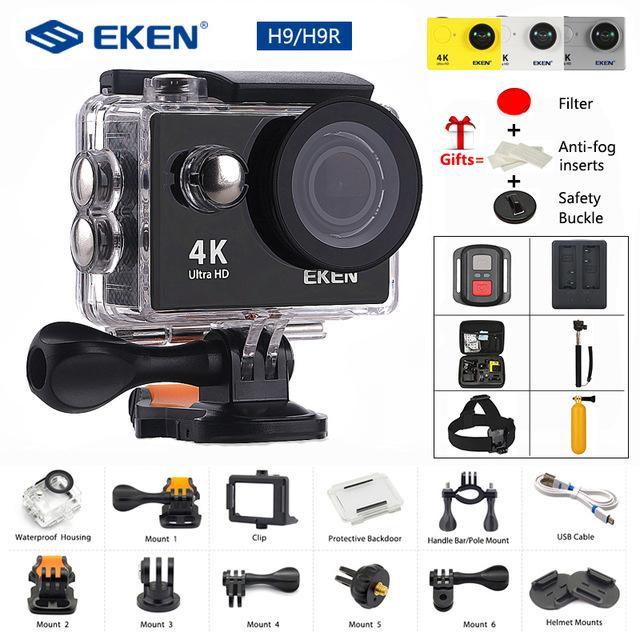 Giá Camera Hành Trình Gopro Camera Hành Trình Eken H9R Full Hd 4K Có Wifi Cao Cấp Tiện Lợi (Giảm-50%)...