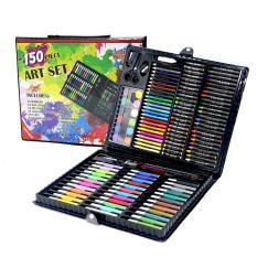 Hộp Màu Vẽ Đa Năng 150 Chi Tiết Cho Bé,Hộp Bút Chì Màu 150 Chi Tiết