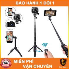 Tặng kèm điểu khiển Remote Bluetooth – Gậy chụp hình kiêm chân Tripod YunTeng 9928 Eco Tony