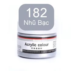 [Lấy mã giảm thêm 30%]Hũ Màu Acrylic 100ml Reynolds – Sơn Acrylic Chuyên Dụng 36 Màu Nước Vẽ Áo Tô Tượng Màu Nhũ Vẽ 3D Giày Thủy Tinh Gỗ