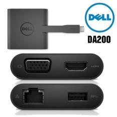 Bộ Chuyển Đổi Dell DA200 USB Type-C 1 Ra 4 Cao Cấp