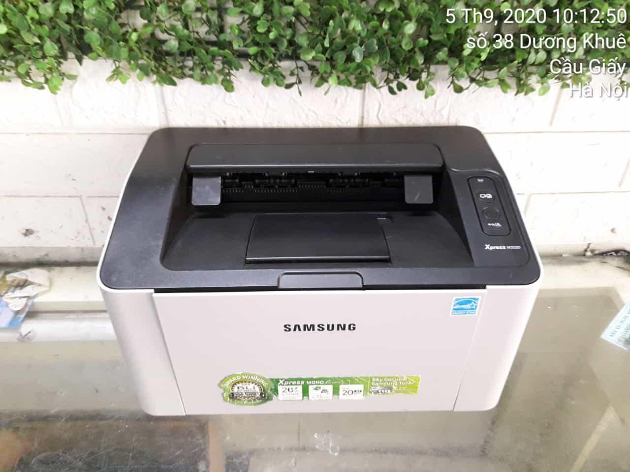 Máy In Laser Samsung Xpress M-2020 ( tặng hộp mực mới dây nguồn dây USB mới )