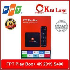 FPT Play Box + 4K 2019 S400 + Remote Giọng nói – Hãng phân phối