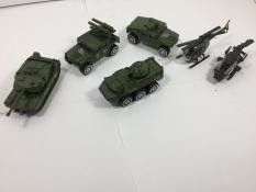 Bộ 6 xe Sắt quân sự VB8702
