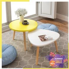 Combo bàn tròn và bàn tam giác