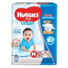 Tã dán Huggies M76