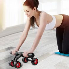 Con lăn tập cơ bụng Ab 2020 dụng cụ máy tập gym 2 bánh xe máy tập bụng giảm mỡ tặng kèm thảm tập – con lăng giảm eo chịu lực tốt bền bỉ tập thể dục tại nhà (có video và ảnh thật)