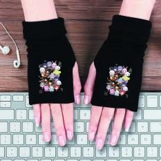 Găng tay len in hình tổng hợp anime chibi thời trang chất đẹp