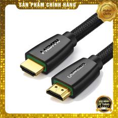 Cáp HDMI 2.0 Ugreen HD118 dây bọc dù hỗ trợ 3D 4K cao cấp – HapuStore