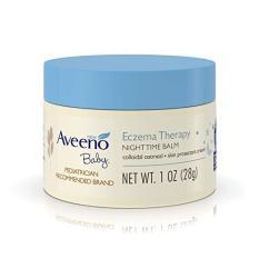 Kem dưỡng ẩm ban đêm giảm ngứa khô da cho bé Aveeno Baby Eczema 28g