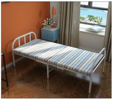 Giường xếp gọn khung thép sẵn đệm