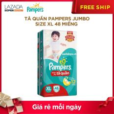 Tã quần Pampers Jumpo XL48