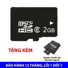[Nhập ELJAN11 giảm 10%, tối đa 200k, đơn từ 99k]Thẻ nhớ Micro SDHC 2GB class 6 – Bảo hành 12 tháng lỗi 1 đổi 1 + Tặng kèm adapter ADATA