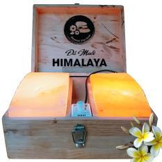 Đá Muối Himalaya Massage Chân Vòm Cong Đôi Loại Dày Tiện Dụng