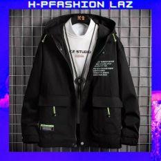 Áo khoác kaki nam 2 lớp – Áo khoác nam 2 lớp co giãn, có túi trong tiện lợi thời trang Hpfashion Laz – KKKNKV130