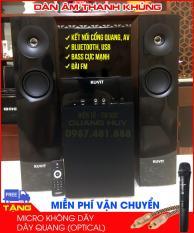 Dàn âm thanh khủng kết nối cổng quang, bluetooth, usb, nghe đài FM KOVIT 819-NEW