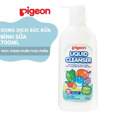 Dung dịch súc rửa bình sữa Pigeon 700ml