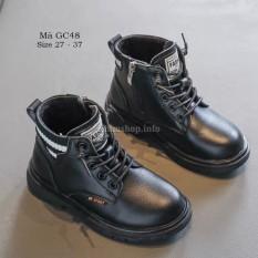 Giày boot cổ ngắn cho bé trai bé gái 3 – 12 tuổi kiểu dáng thể thao phong cách Hàn GC48