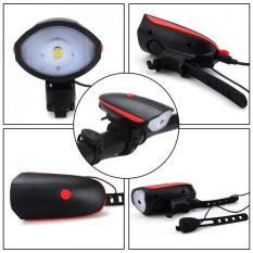 Đèn Còi XE ĐẠP siêu sáng sạc USB 7588 CHỐNG NƯỚC TUYỆT ĐỐI SPEAKER BICYCLE LIGHT