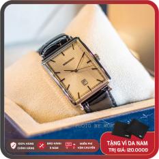 Đồng Hồ Nam Romanson DL5163NMWWH Full Box, Sổ BH Quốc Tế Chống Xước, Chống Nước, Dây Da Cao Cấp