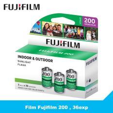 3 cuộn film Fujifilm 200 Indoor & Outdoor , 36exp – Phim máy ảnh 35mm