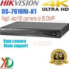 Đầu Ghi Hình Camera IP 16 Kênh HIKVISION DS-7616NI-K1 – 8.0MP Ultra HD 4K