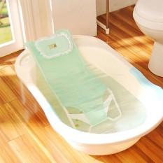 Giường lưới tắm kèm gối chống trượt an toàn cho bé sơ sinh