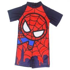 Đồ bơi bé trai liền Spiderman hình người