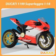 XE MÔ HÌNH Moto Siêu xe Ducati 1199 Superleggra – MAISTO tỷ lệ 1:18