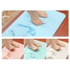 Thảm cứng Nhật Bản siêu thấm 40x60cm, thảm lau chân chống trượt
