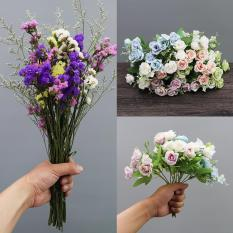 Thị Trấn Cảnh Đức Bình Hoa Nhỏ Gốm Vật Trang Trí Phòng Khách Cắm Hoa Hiện Đại Giản Lược Đồ Dùng Gia Đình Hoa Khô Đồ Trang Trí Sứ Sứ Bình