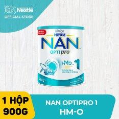 Sữa bột Nestle NAN Optipro 1 cho trẻ từ 0-6 tháng tuổi 900g – HMO (New packaging)