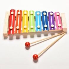 Đàn gỗ thanh sắt nhiều màu giúp bé phát triển thính giác và thị giác (có 3 loại)