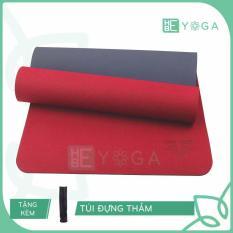Thảm tập Yoga Zera 8mm 2 lớp + Túi đựng thảm