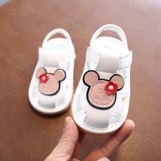 Giày tập đi cho bé giày hình chuột mickey