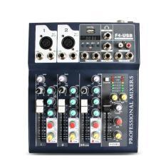 Mixer F4 USB Có Bluetooch