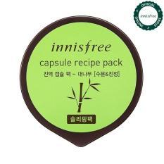 Mặt nạ ngủ dưỡng ẩm & làm mịn da từ tre Innisfree Capsule Recipe Pack – Bamboo 10ml