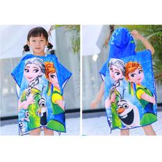 [HCM]Khăn choàng tắm đi biển cho bé màu sắc vui nhộn (hàng loại I) cho bé 2-10 tuổi – KH001