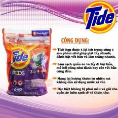 Viên giặt Tide Pods 3 in 1 gói 42 viên của Mỹ