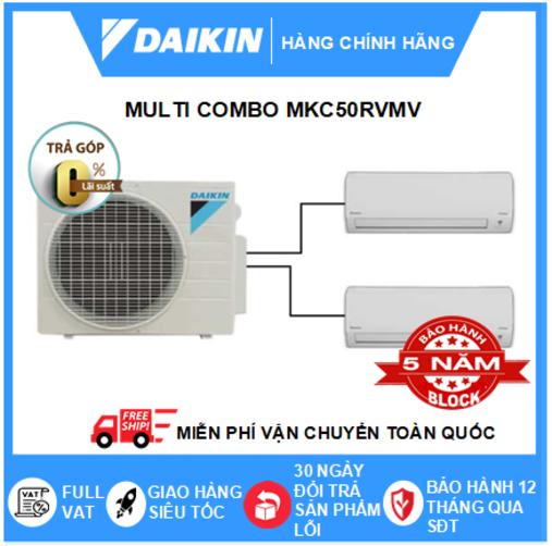 Máy Lạnh Multi Combo MKC50RVMV/CTKC25RVMV+CTKC35RVMV – 2hp – 18000btu Inverter R32 – Điều hòa chính hãng – Điện máy SAPHO