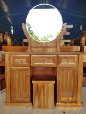 Bàn trang điểm, bàn trang điểm gỗ, bàn trang điểm gỗ tự nhiên, bàn trang điểm gỗ Hương