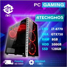 [Trả góp 0%]Máy tính Gaming cho Game thủ chơi Games chuyên nghiệp 4TechGM05 2019 trọn bộ Full Box kèm màn hình 24inch Full HD chiến mọi trò chơi hay đòi cấu hình cao Pubg pc mobile GTA5 fifa pes maxsetting Game phổ thông LOL Dota cf không giật lag.