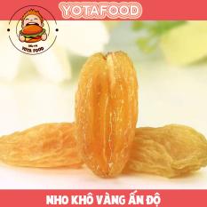 Nho vàng khô Ấn Độ loại ngon ( không đường , ăn kiêng giảm cân được ) | Yotafood – 500Gram